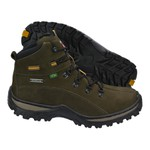Bota Coturno Masculina Infantil Adventure Verde Militar Galway 5017