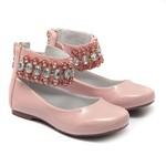 Sapato de Tornozeleiras Infantil Verniz Gats