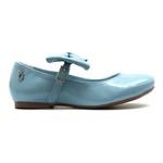 Sapato Boneca Laço Azul Infantil Gats