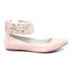 Sapato de Tornozeleiras Baby Blush