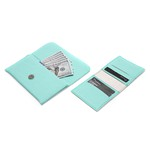 Kit Carteira Verde Tiffany