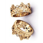 Aliança de Casamento Coroa Princess