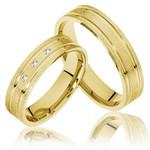 Aliança de Casamento Fosca
