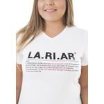 Camiseta Baby Look LA.RI.AR
