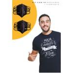 Kit Máscaras + 1 Camiseta A Começar em Mim