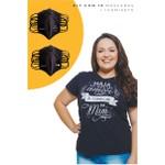 Kit Máscaras + 1 Camiseta Baby Look A Começar em Mim