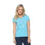 Camiseta Baby Look PG My Style Azul