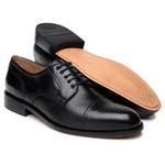 Tamanho Especial Sapato Scatamacchia Preto 301