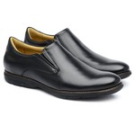 Sapato Casual Comfort Preto 1103