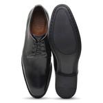 Sapato Social Masculino Derby Preto Npl010