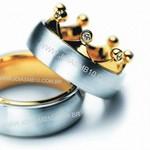 Alianças de Casamento Alto Estilo