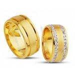 Alianças de Casamento Quadradas