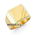 Anel de Ouro Masculino Joinville