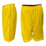 Bermuda Juvenil Dupla Face Marinho e Amarelo