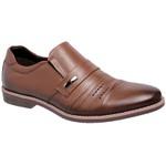 Sapato Social Masculino oxfort Couro Linha Cobalt Naturaly Havana 65
