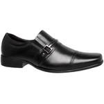 Sapato Social Couro Naturally Linha Classic gel - preto