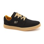 TÊNIS SKATE LOOSE CANVAS PRETO-NATURAL - LANDFEET