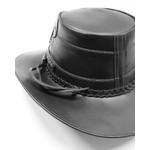 Chapéu de couro Legitimo Bovino Modelo Escamado em couro original