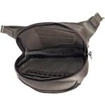 Pochete porta Arma de couro Bovino Original com coldre interior
