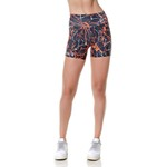 Short Larulp Denver Fit - PTO/LARANJA/BCO