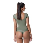 Body larulp detroit high cut sleeve - VERDE ARGONE