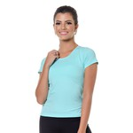 Camiseta larulp weston sleeve 18026 - BRILHO AZUL