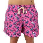 Paisley Rosa - Shorts Adulto