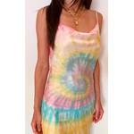PRÉ VENDA - Slip Dress Tie Dye Rainbow