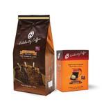 Kit de Café Celebrity Coffee - Torrado em Grãos 1Kg + Café em Cápsulas 10 und.