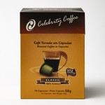 Café Celebrity Coffee - Torrado em Cápsulas - 50g - 10 und.