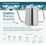 Chaleira Pescoço de Ganso da Pressca 500 ml