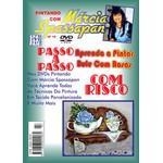 DVD Pintando Com Marcia Spassapan Edição Nº18 - Bule Com Rosas + Projeto