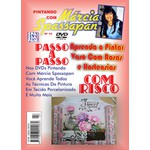 DVD Pintando Com Marcia Spassapan Edição Nº10 - Vaso Com Rosas e Hortensias + Projeto