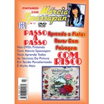 DVD Pintando Com Marcia Spassapan Edição Nº11 - Rosas Com Paisagem + Projeto