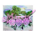 Projeto para Pintura com Foto e Risco Paisagem com Rosas Ed.11