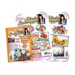 DVD Pintando Cesta Com Flores + 2 Apostilas Florais