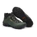 Adventure em Couro Gogowear Argon Verde Militar