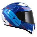 CAPACETE LS2 ARROW TECHNO WHITE/BLUE/RED