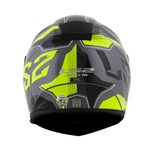 CAPACETE LS2 VECTOR ROADSTER TITANIUM/YELLOW