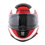 CAPACETE LS2 VECTOR WAVY BLACK/WHITE/RED