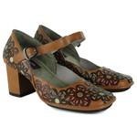 Sapato Em Couro Galeany Alto Tamara J.Gean