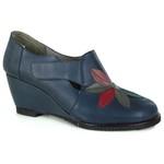 Sapato em Couro Susan Alto Navy J.Gean ST0006-03