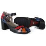 Sapato Em Couro Preto AR0162