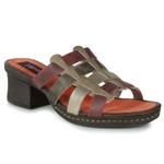 Sandália Em Couro Marjorie Avelã J.Gean BL0022-16