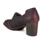 Sapato Em Couro Lolla Alto Bordô AG0047 J.Gean