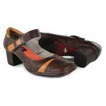 Sapato Em Couro Galeany Médio Coffee J.Gean