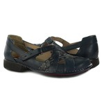 Sapatilha Em Couro New Exclusiva Navy J.Gean