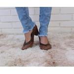 Sapato Ibizza Em Couro Amêndoa J.Gean