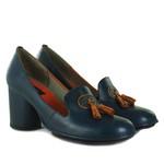 Sapato em Couro Navy J.Gean AG0039-03