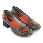 Sapato Em Couro New Kelly Café J.Gean